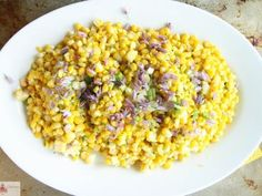 Sautéed Corn with Spicy Compound Butter