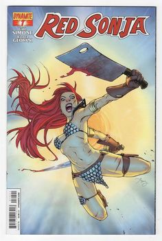 Red Sonja #7 Amy Reeder Variant Cover (2014)