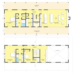 Modern Farmhouse Plan #888-15 by Architect Nicholas Lee