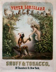 RACE, FEMININITY, & BENIGN NATURE IN A VINTAGE TOBACCO AD