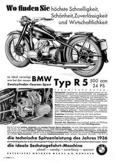 BMW R 5, 1936