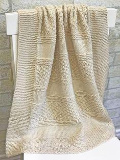 Diy Crafts - baby,pattern-Knit Baby Blanket Pattern - Brighten Blanket - knitting baby pattern - by Deborah O'Leary Patterns Free Baby Blanket Patterns, Baby Blanket Size, Easy Knitting Patterns, Loom Knitting, Knitting Projects, Baby Knitting, Crochet Patterns, Knitting Ideas, Easy Knit Baby Blanket