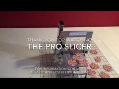 The PRO Slicer, a Polymer Clay Precision Slicer, was designed to help the artist to accurately cut consistent thicknesses of polymer clay slices. Polymer Clay Tools, Polymer Clay Canes, Polymer Clay Jewelry, Clay Charms, Clay Tutorials, Clay Creations, Pasta, Make It Yourself, Product Review