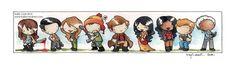 cute firefly cast by ~katiecandraw on deviantART