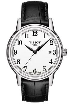 27dd02acec3 TISSOT - CARSON U QTZ ACC C.NERO Q.BIANCO ARABI Serial 158315 Gents. Watches  For MenMen s ...