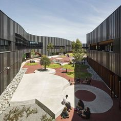 PEGS INFINITY CENTRE BY MCBRIDE CHARLES RYAN ARCHITECTS. The Infinity Centre is a new senior school for the Penleigh and Essendon Grammar School in Keilor East. This project is to provide a new Year 11 & 12 Senior Campus for the school.