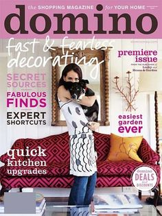 the BEST-ever home mag (that was discontinued years ago and has since accrued a cult following) is COMING BACK! Special Edition on newsstands April 17. Buy it.