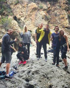 andreadgez on IG 14.05.2016 ''Climbing with Jared Leto, Zedd, and Joel Kinnaman #belayedbyleto #goodvibes ✌️: @awidmar''