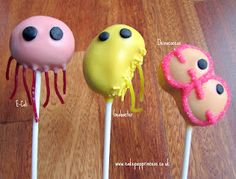 microbe cake pops.  Better than Giant Microbes?