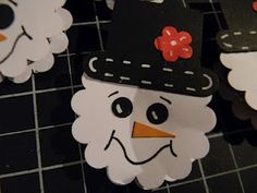 York peppermint patties covered by snowman