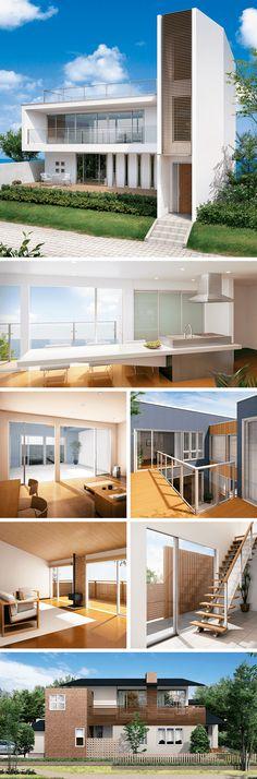 APW 501は、フレームレスの大型FIX窓とスライディング窓を組合せ、眺望性にこだわった大開口テラス窓です。窓とドア、インテリアからエクステリアまで、住空間を快適に創造するYKK AP Ykk, Expensive Houses, Tiny House, Home Goods, Interiors, Mansions, Architecture, House Styles, Awesome