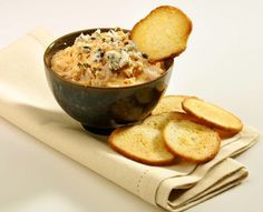 Buffalo Chicken and Blue Cheese Dip Recipe on Yummly