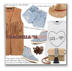 """""""16-04-13 Pack for Coachella"""" by tianakosya ❤ liked on Polyvore featuring MuuBaa, Ally Fashion, Quiksilver, Stella & Dot, John Galliano, Reef, RE/DONE and packforcoachella"""