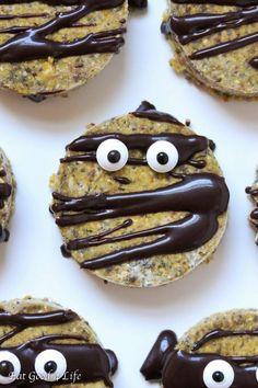 Gluten free Vegan Halloween Cookies
