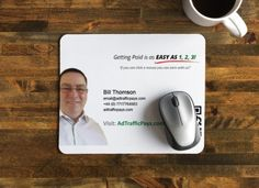 OMG! I'm so tempted to get a mouse mat to go with my new business card design!! Looks so cool! What do you think :-)