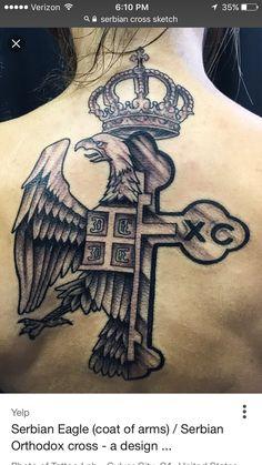 Serbian tattoo