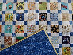 I Spy Disappearing Nine Patch - The I Spy Disappearing Nine Patch is a great idea for kids quilt patterns because it serves as entertainment and style. Made with disappearing nine patch quilt directions, this kids quilt pattern is perfect for any little girl or boy bedroom. This scrappy and precious ideas allows you to create a nine patch pattern that displays a myriad of fabric designs, allowing your kiddos to play I-spy with the adorable quilting pattern.