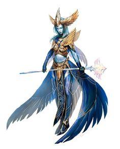 Female Undine Oracle - Pathfinder PFRPG DND D&D d20 fantasy