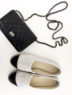 Chanel Boy WOC and Espadrilles - these are on my wishlist!