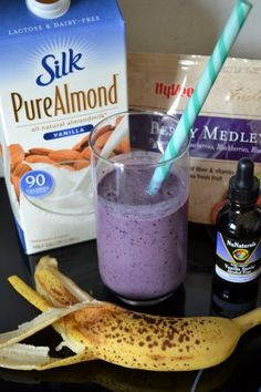Berry Banana Creme Protein Smoothie