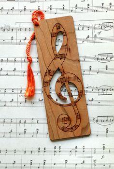 Music Bookmark Treble Clef Bookmark Music Style Bookmark