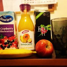 Your day gets started. #innocent @innocentireland #healthy #drinks
