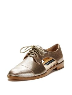 Allover Cut-Out Oxford by Steven by Steve Madden at Gilt