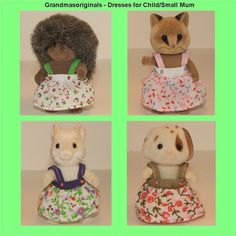Sylvanian Families NEW clothes 1 DRESS FOR CHILD/SMALL MUM - ebay