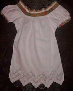 Camisola para niña, lista para su entrega #creacionesfolkloricas
