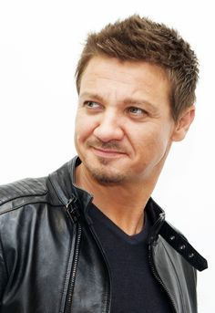 Jeremy Renner - The Avengers Age of Ultron Press Conference April , 2015.