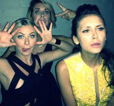 Nina Dobrev, Julianne Hough, Riawna.