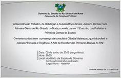 RN POLITICA EM DIA: CRISE FINANCEIRA: ROBINSON SE REUNIRÁ COM DIVERSOS...