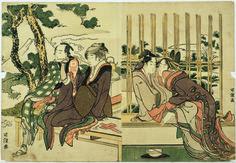 9 Key Terms You Should Know Before Seeing The Massive Hokusai Exhibition Tableau des moeurs féminines du temps