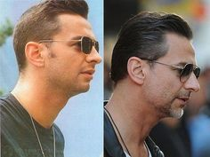 Dave Gahan...Depeche Mode.  Yes even rock stars do age, but he does it so gracefully.