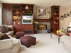 Contemporary Living-rooms from Barbi Krass on HGTV