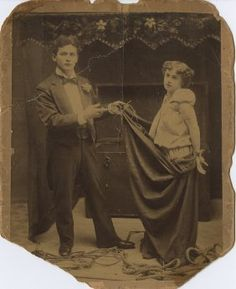 Harry Houdini and Bess