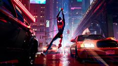 """Miles Morales (Shameik Moore) in Columbia Pictures and Sony Pictures Animation's """"Spider-Man: Into the Spider-Verse."""" (Sony Pictures Animation) It's been quite Miles Morales, Hindi Movies, Disney Pixar, Spider Verse, Brooklyn, Animation Film, Computer Animation, Animated Spider, Spider Man"""