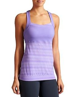 Crunch And Punch Tank - The tank designed for the gym that easily crosses over to run with high support built right in and lightweight, breezy fabric.