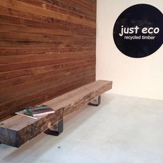 Instagram photo by justeco_melbourne - Check out our new bench seats. This beautiful 300x150 reclaimed wharf timber was salvaged from central pier in docklands. We love getting beautiful timber from historical Melbourne sites! Contact sales@justeco.net.au for more info on products. #justeco #recycledtimber #recycledtimbermelbourne #recycledtimberfurniture #docklands #messmate #ironbark #brushbox