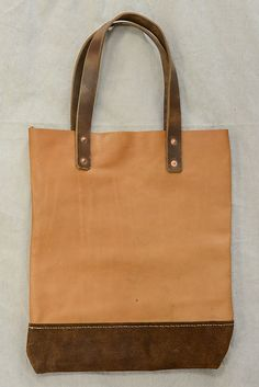 Cause & Effect Leather Tote 2