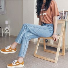 15 Outfits that will make you look like an influencer - They will make you look very stylish. Best Picture For outfits con botines For Your Taste You are - Korean Girl Fashion, Korean Fashion Trends, Korean Street Fashion, Asian Fashion, Look Fashion, Fashion Models, Ulzzang Fashion Summer, Korea Fashion, Fast Fashion