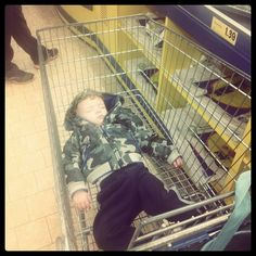 Too tired to shop!