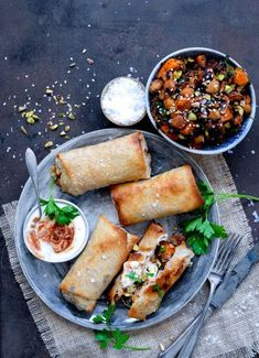 Vanlose Blues - Her handler det om geniale grøntsager Veggie Recipes, Wine Recipes, Asian Recipes, Vegetarian Recipes, Healthy Recipes, Vegetarian Italian, Spring Rolls, Everyday Food, Soul Food