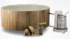 Baignoire extérieure chauffée par un feu de bois ! Le Dutchtub maison ou en extérieur