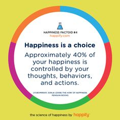 The Happiness Pie: How Much Do You Control?