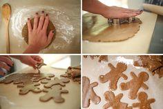 Paleo Gingerbread Process