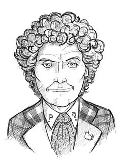 Doctor Who #6 - Colin Baker by thecommonwombat.deviantart.com on @deviantART
