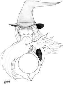 Wizard Tattoo Design By Astasia On DeviantART