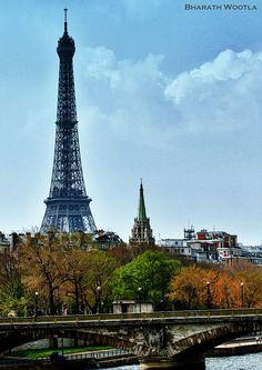 La Tour Eiffel, Paris - France