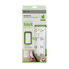 """Stop wasting """"vampire power"""". This makes it easy to shut off power--including standby power--to up to six devices at once, using a remote control. (No crawling on the floor to flip the switches!) 